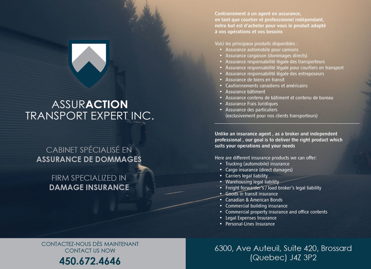 Assuraction Transport Expert Inc.