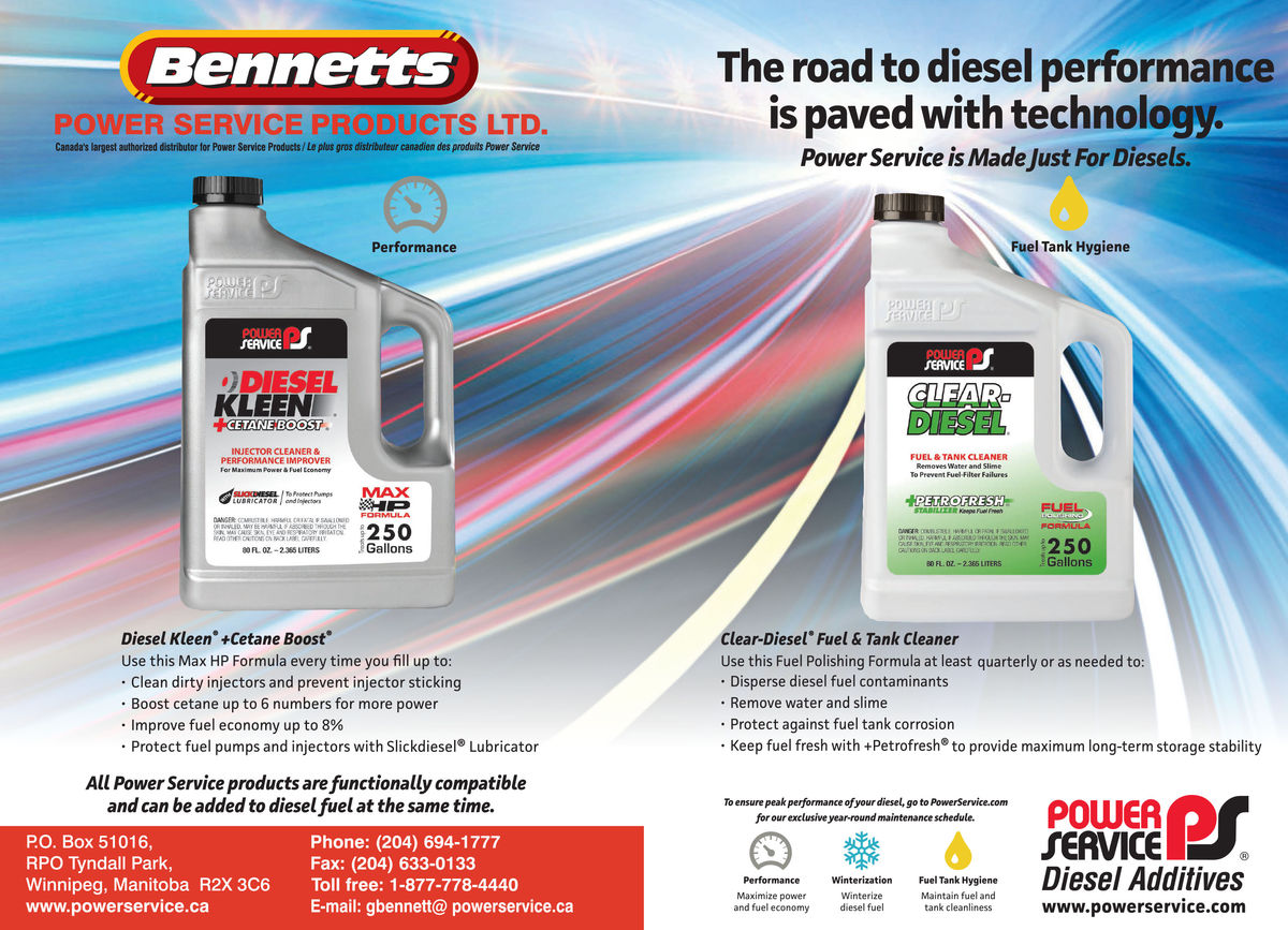 Bennetts Power Service Product Inc