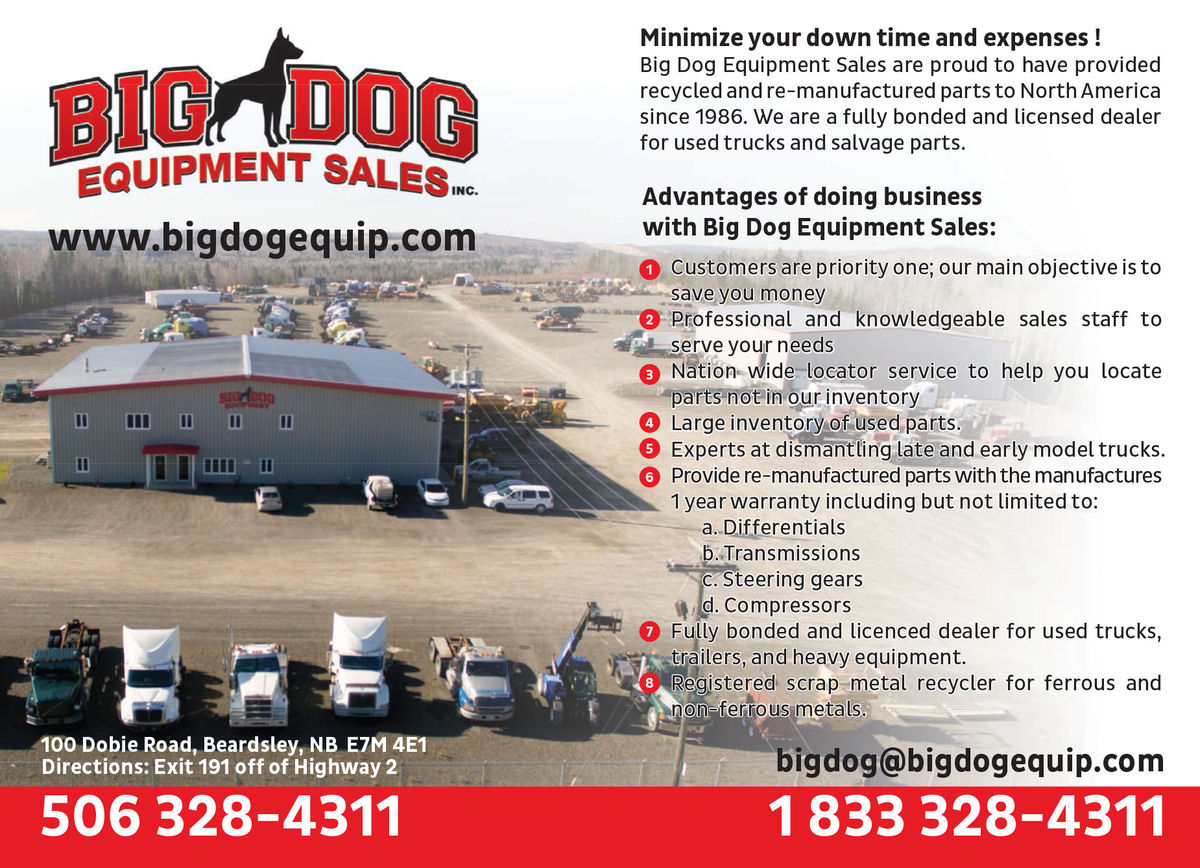 Big Dog Equipment Sales