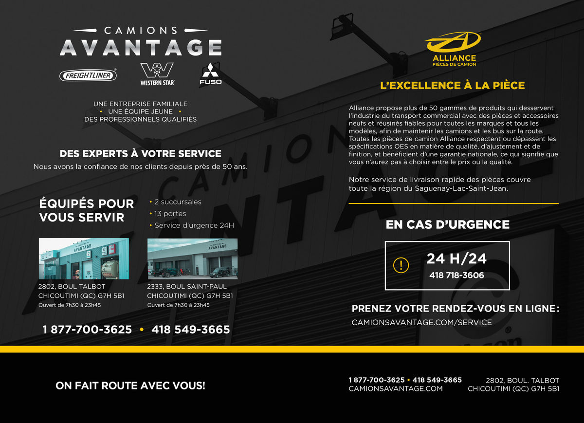 Camions Avantage