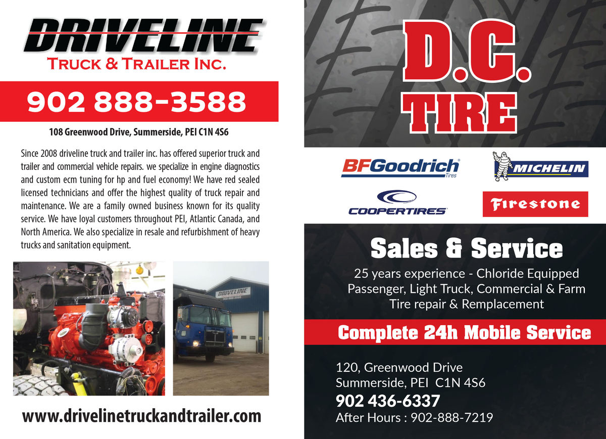 Driveline Truck and Trailer Inc.