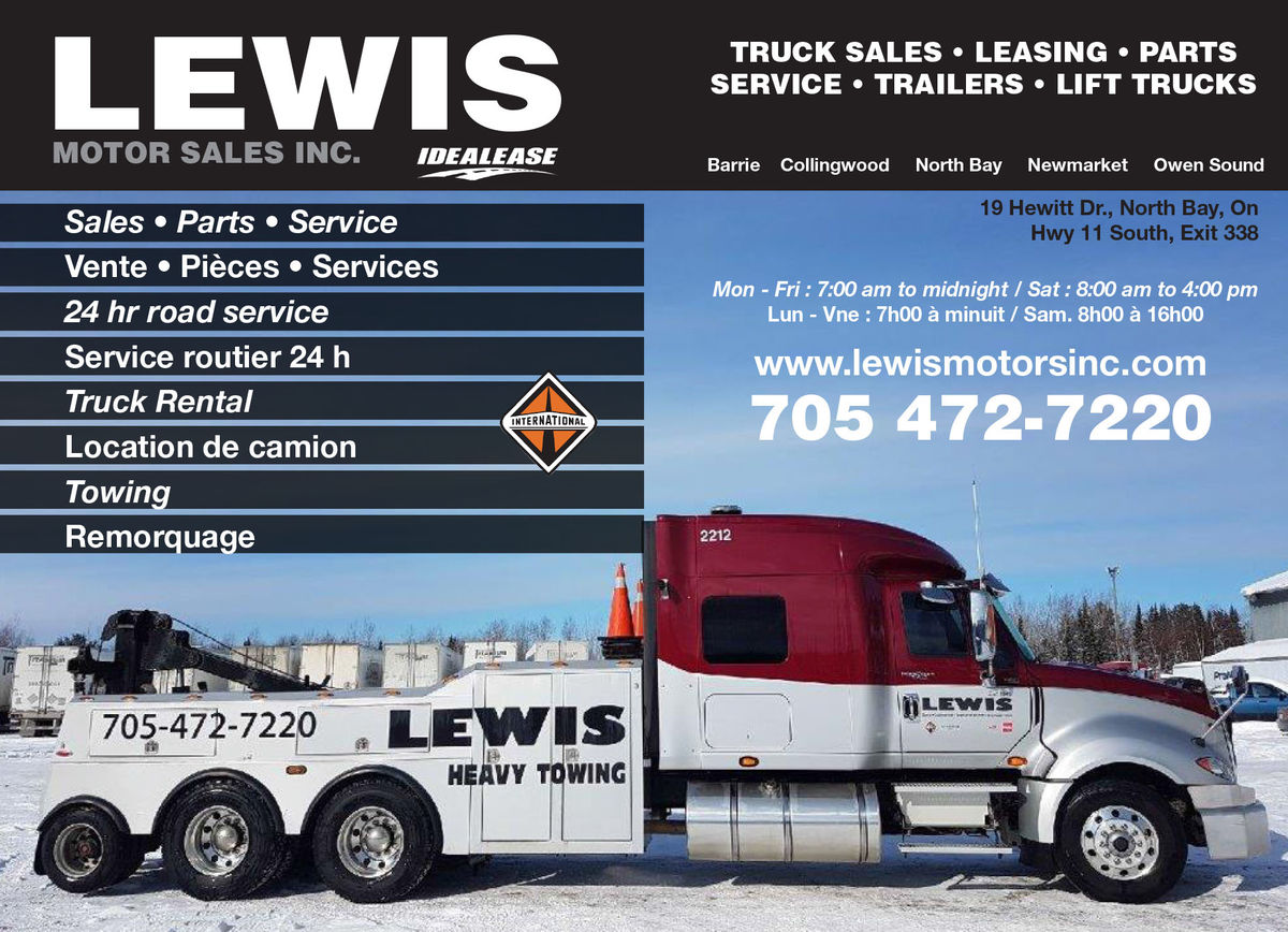 Lewis Motor Sales (North Bay Inc)