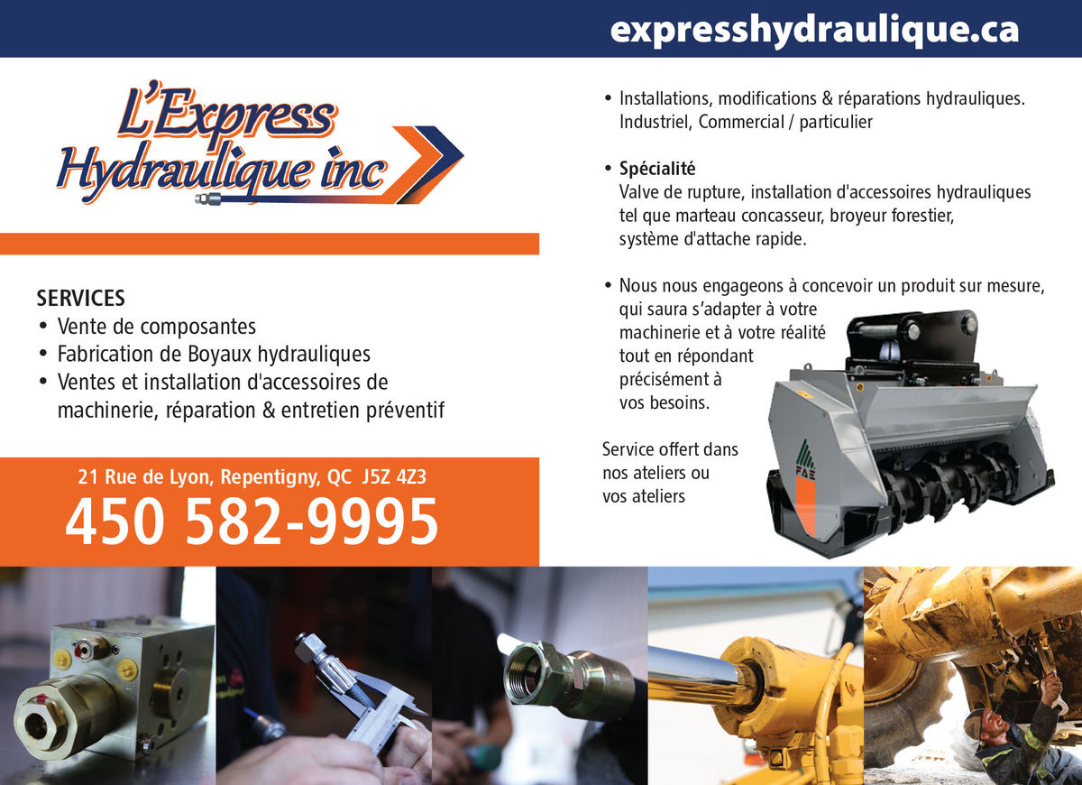 L'Express Hydraulique Inc.