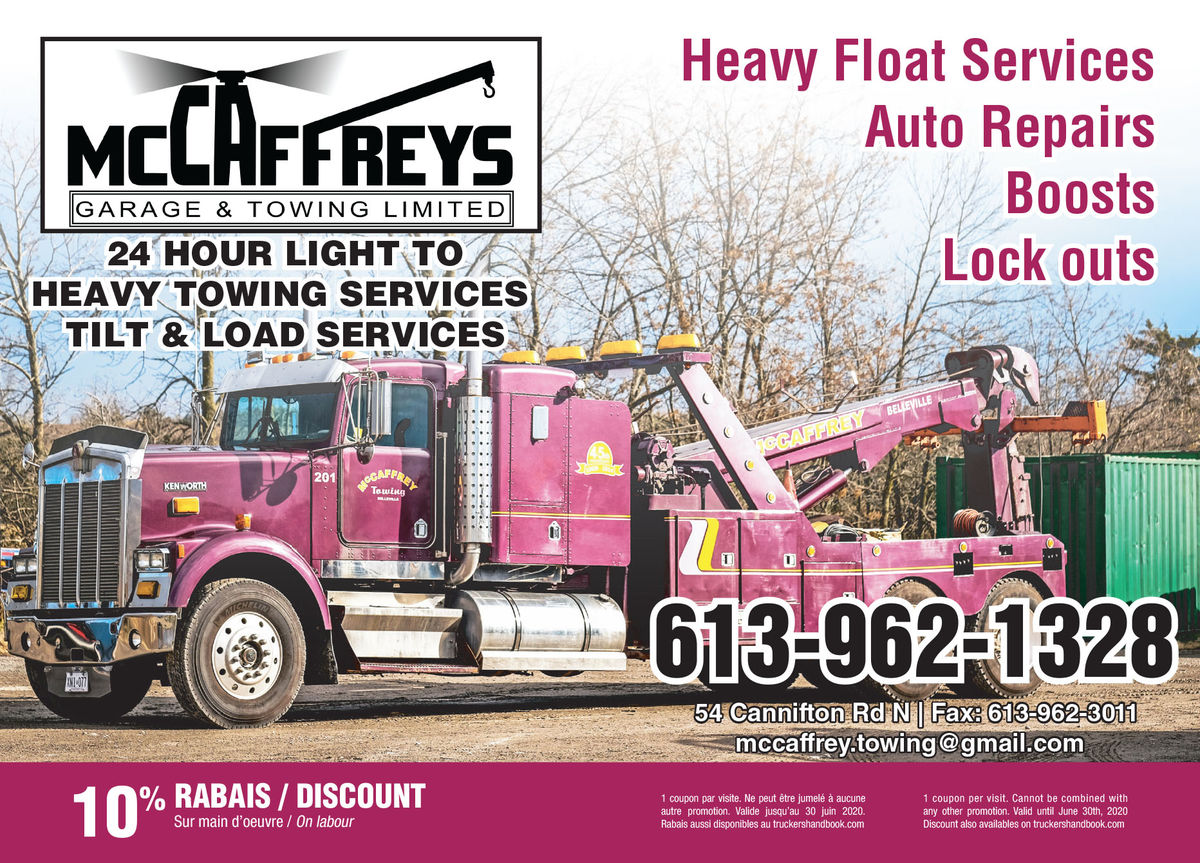 McCaffreys Garage&Towing Ltd