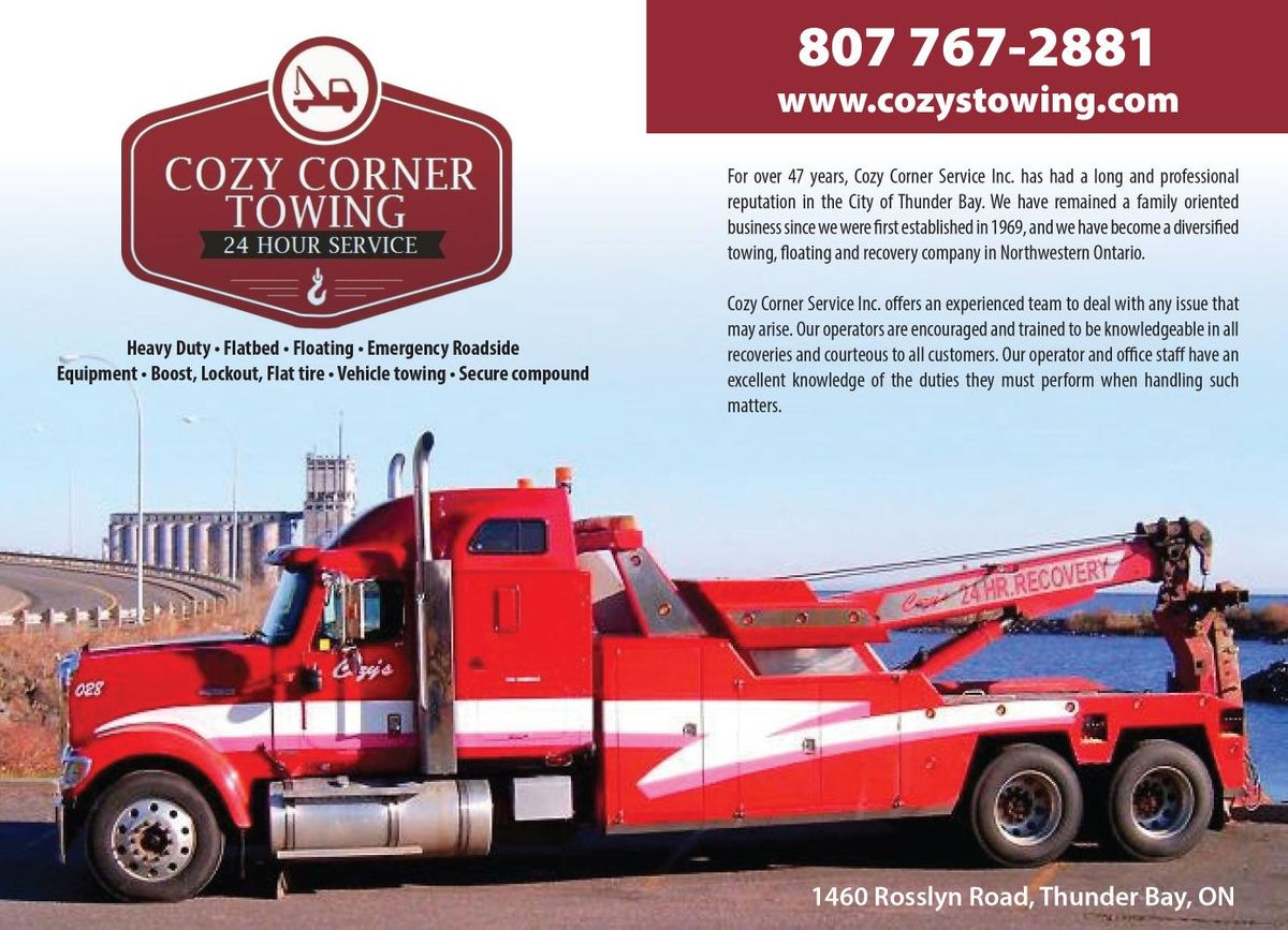 Cozy's Towing