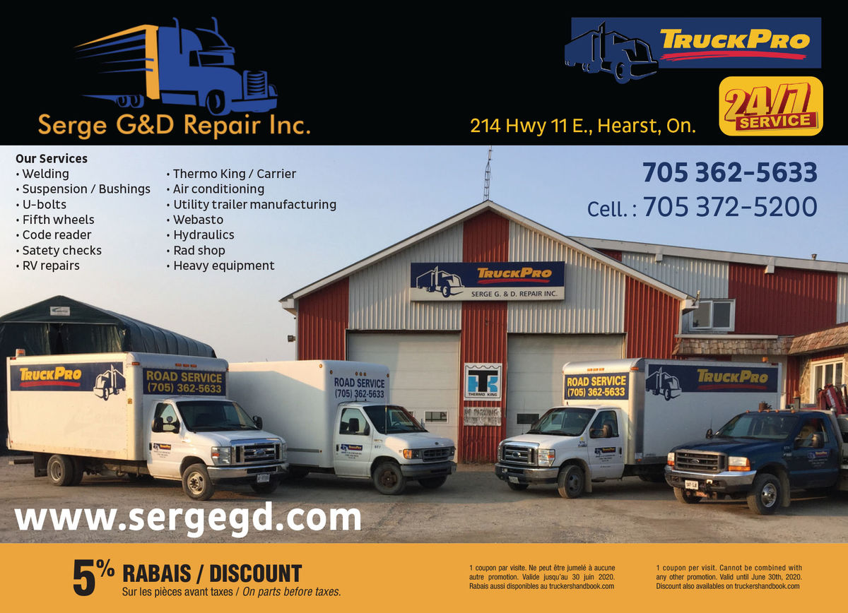 Serge G&D Repair Inc
