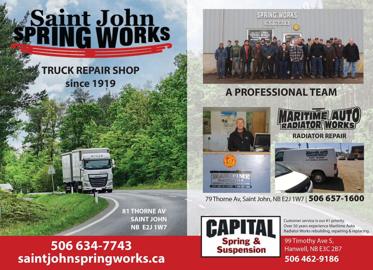 Saint John Spring Work Ltd.