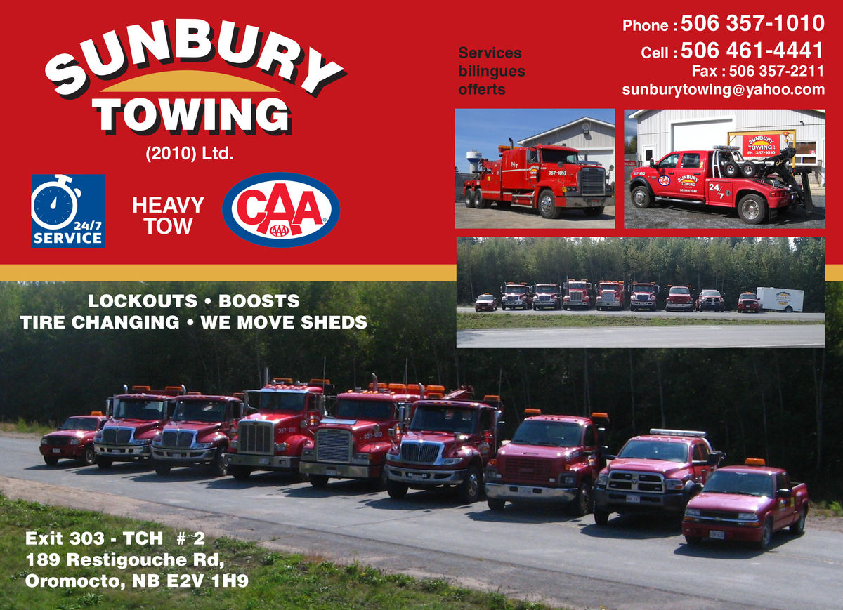 Sunbury Towing (2010) LTD
