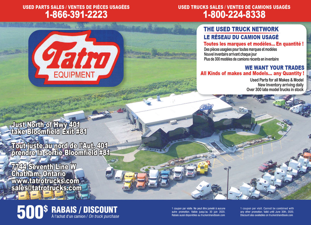 Tatro Equipment Sales Ltd