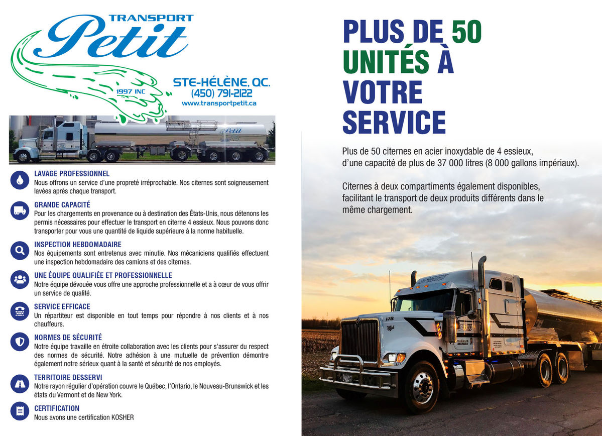 Transport Petit (1997) Inc