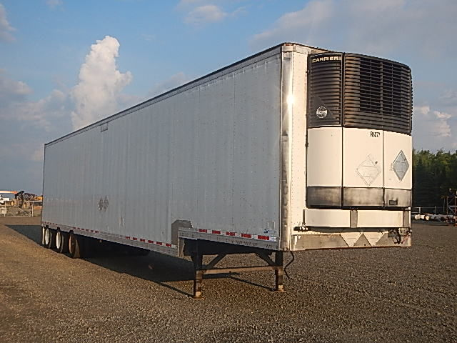 2012 ITD drop floor reefer trailer. 53' x 102