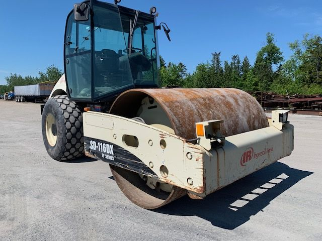2006 Ingersoll Rand SD 116 DX Roller, Equipped with Fully Enclosed Cab, A/C, 83